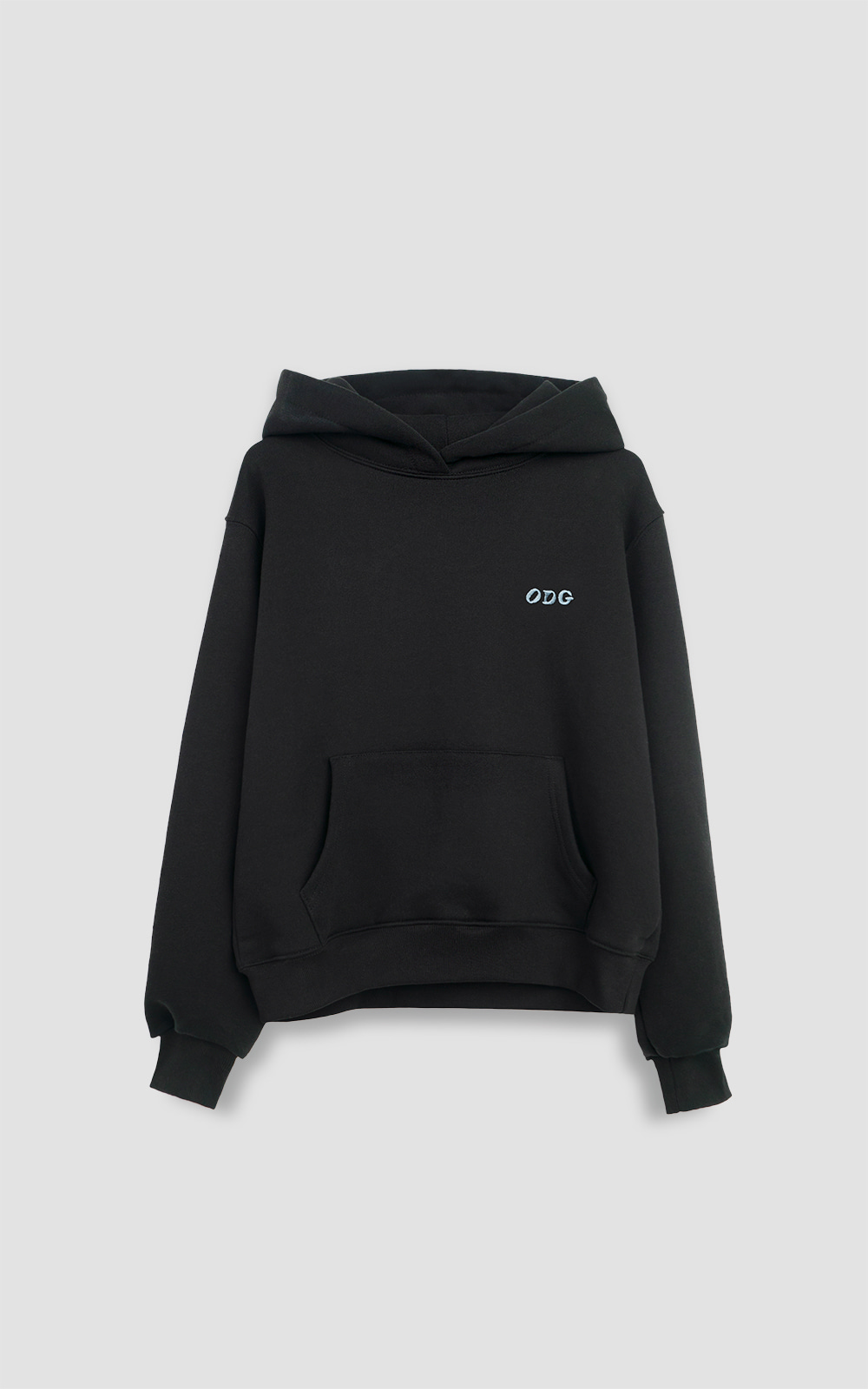 오디지 온라인 스토어ODG ORIGINAL LOGO HOODIE_BLACKOwn label brand